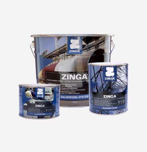 Imprimidores Zinga pintura para galvanizado Grupo Testek