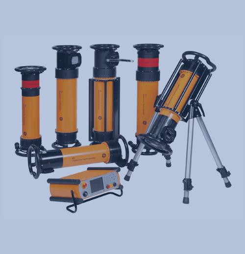 Radiografía Industrial Fuentes y Generadores de Rayos X GE eresco mf4