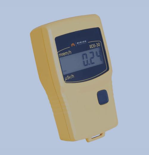 Monitoreo de Área Productos Mirion rds 30