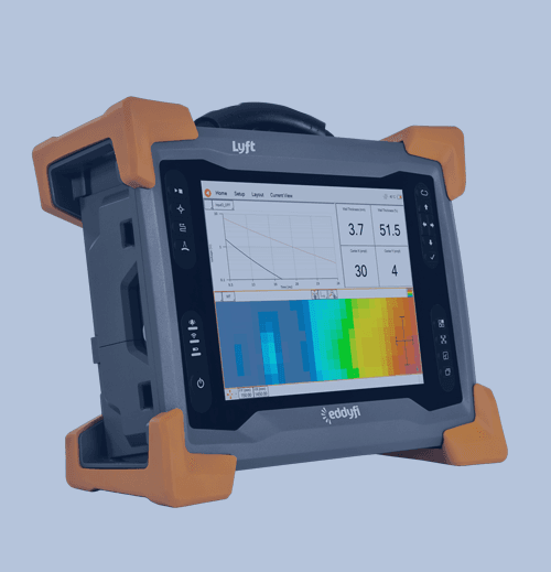 Corrosion Bajo Aislamiento (CUI) Productos eddyfi Lyft