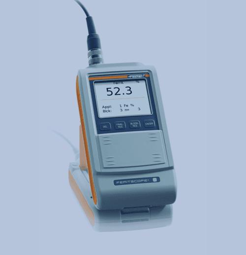 Medición de Espesor de Recubrimiento Fischer Feritscope FMP30