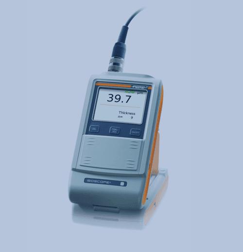 Medición de Espesor de Recubrimiento Fischer Isoscope FMP10