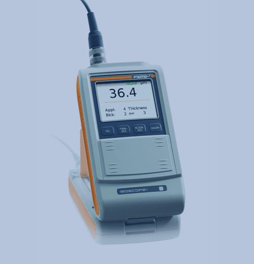 Medición de Espesor de Recubrimiento Fischer Isoscope FMP30