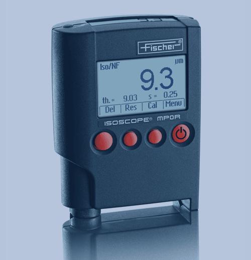 Medición de Espesor de Recubrimiento Fischer Isoscope MP0R