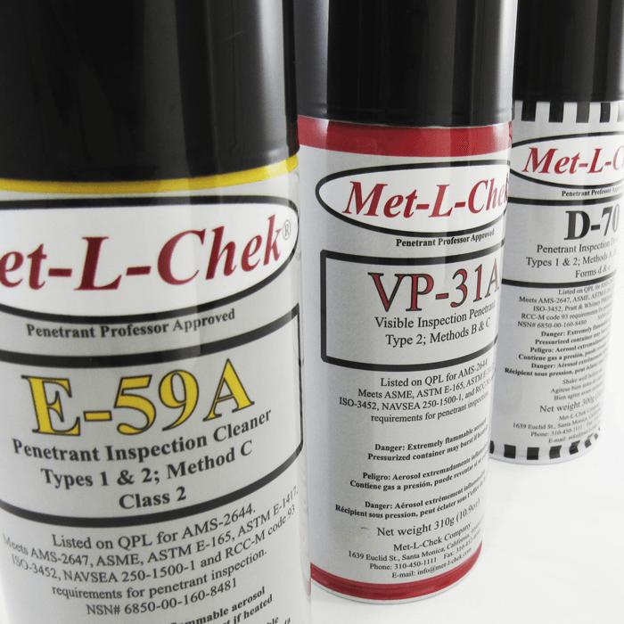 Liquidos Penetrantes Met-L-Chek
