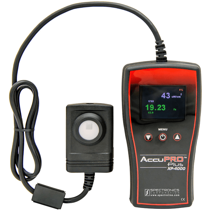 Radiometros y Fotometros Spectroline AccuPro