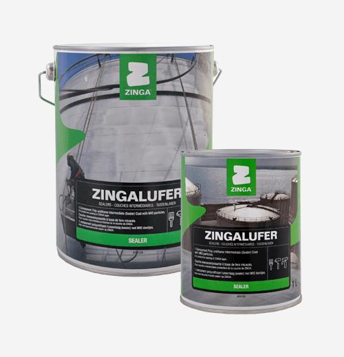 Selladores y Revestimientos Zinga Zingalufer anticorrosivo para acero