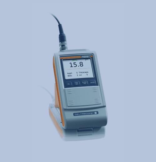 Medición de Espesor de Recubrimiento Fischer Deltascope FMP30