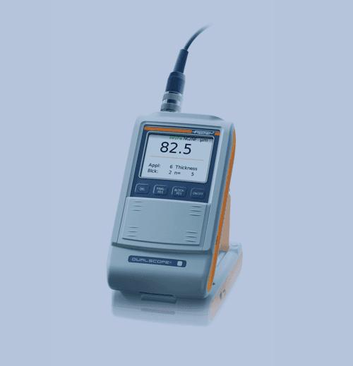 Medición de Espesor de Recubrimiento Fischer Dualscope FMP20