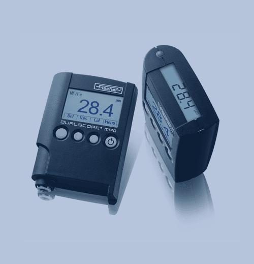 Medición de Espesor de Recubrimiento Fischer Dualscope MP0R
