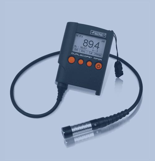 Medición de Espesor de Recubrimiento Fischer Dualscope MP0R FP