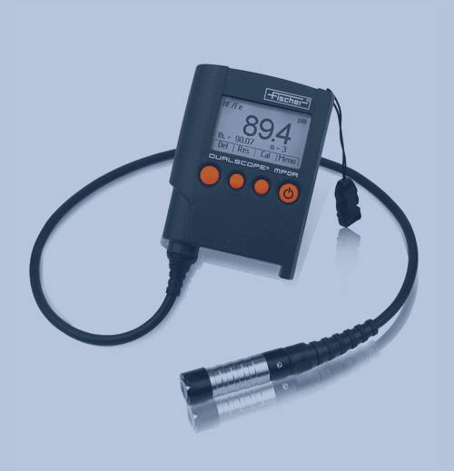 Medición de Espesor de Recubrimiento Fischer Dualscope MP0RH FP