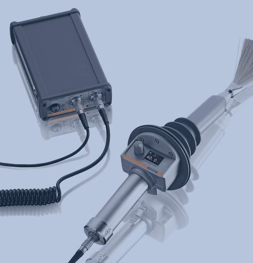 Medición de Espesor de Recubrimiento Fischer Poroscope HV40