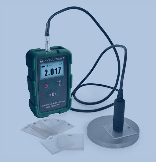 Medición de Espesor de Recubrimiento Novotest Coating Thickness Gauge TP-1M