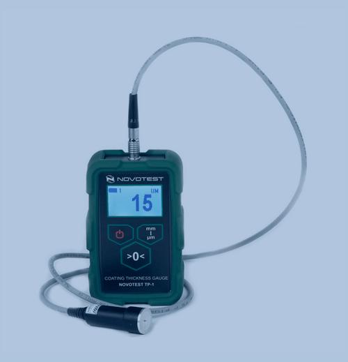 Medición de Espesor de Recubrimiento Novotest Digital Surface Profile Gauge SP-1M