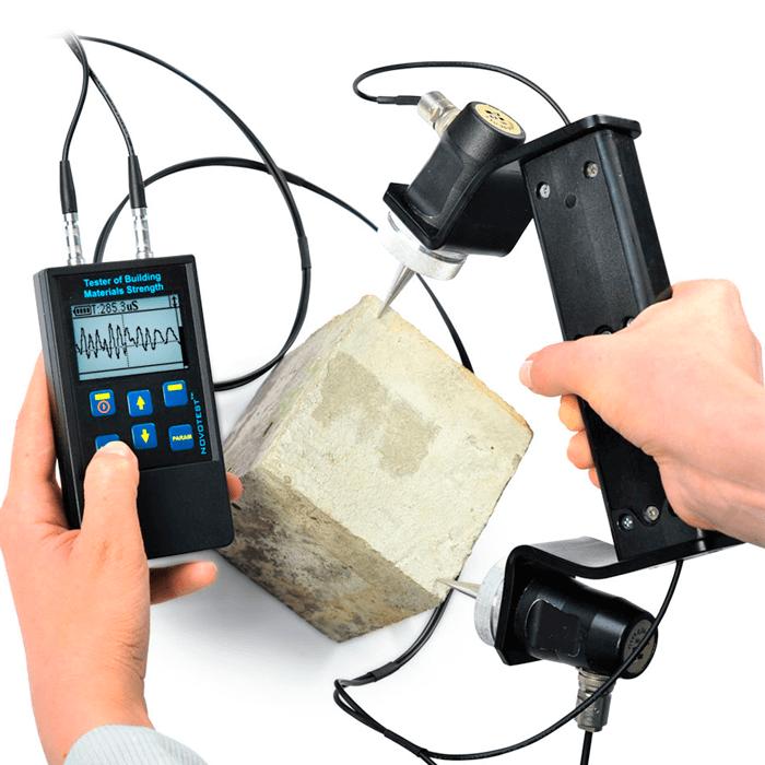 Análisis de Concreto Novotest Strength Meter IPSM U+T+D