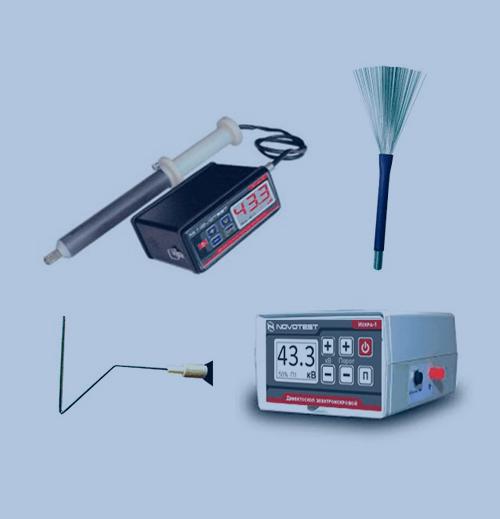 Medición de Espesor de Recubrimiento Novotest Pulse Holiday Detector SPARK-1