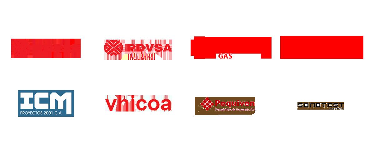 Clientes Grupo Testek Venezuela
