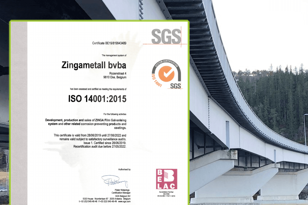 ZINGA-aprobo-versión-certificación-ISO