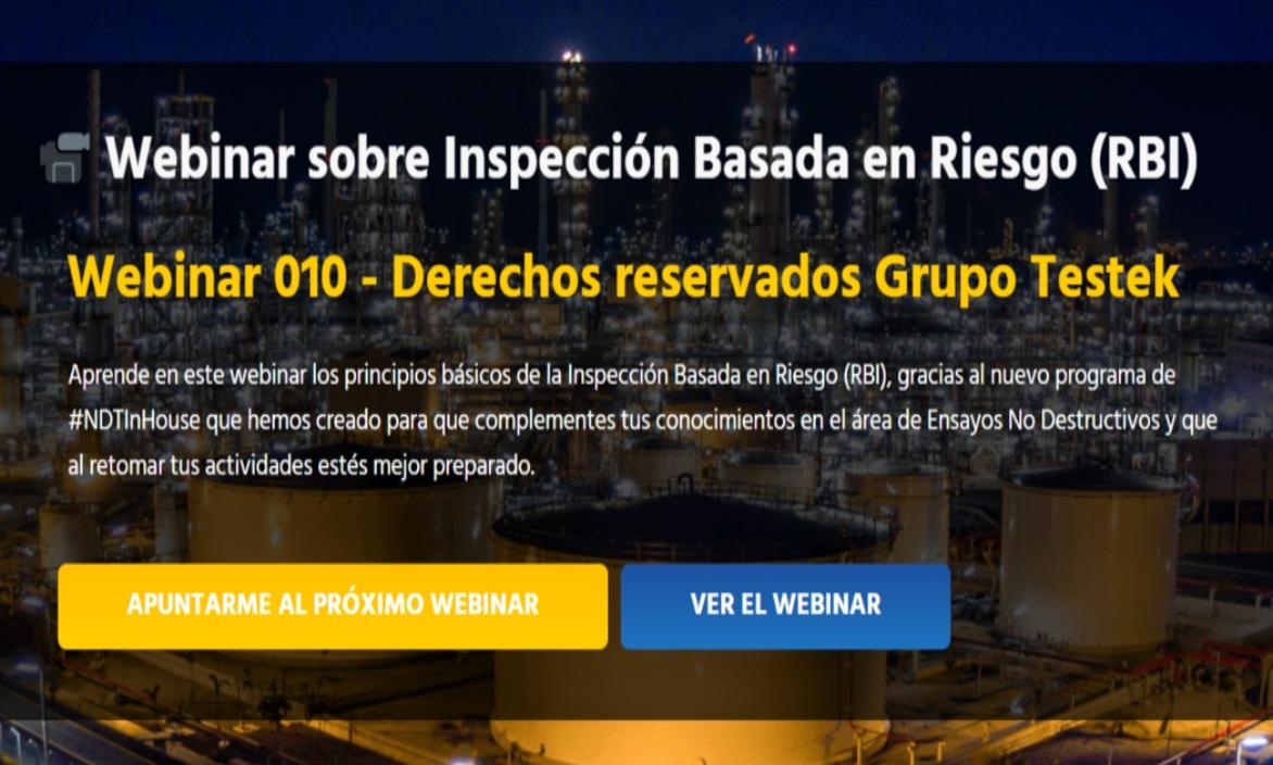 Inspección basada en Riesgo