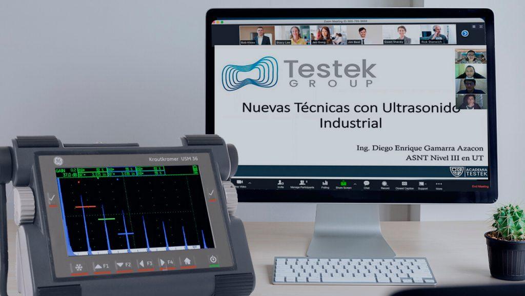 Grupo Testek dictó clases de ultrasonido industrial a estudiantes universitarios
