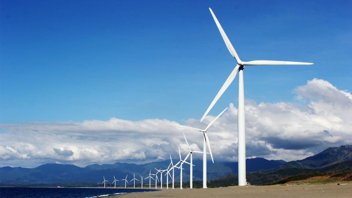 inspección visual remota en turbinas eólicas